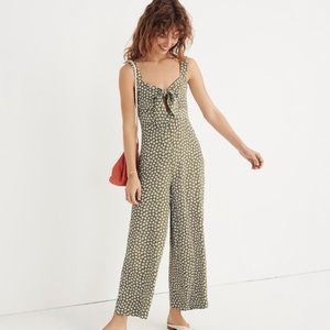 Made well Plumeria Cutout Jumpsuit in Daisy
